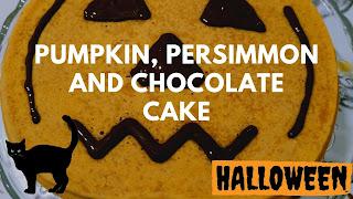 zucca cachi cioccolato torta
