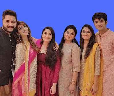 Rohit Saraf Family