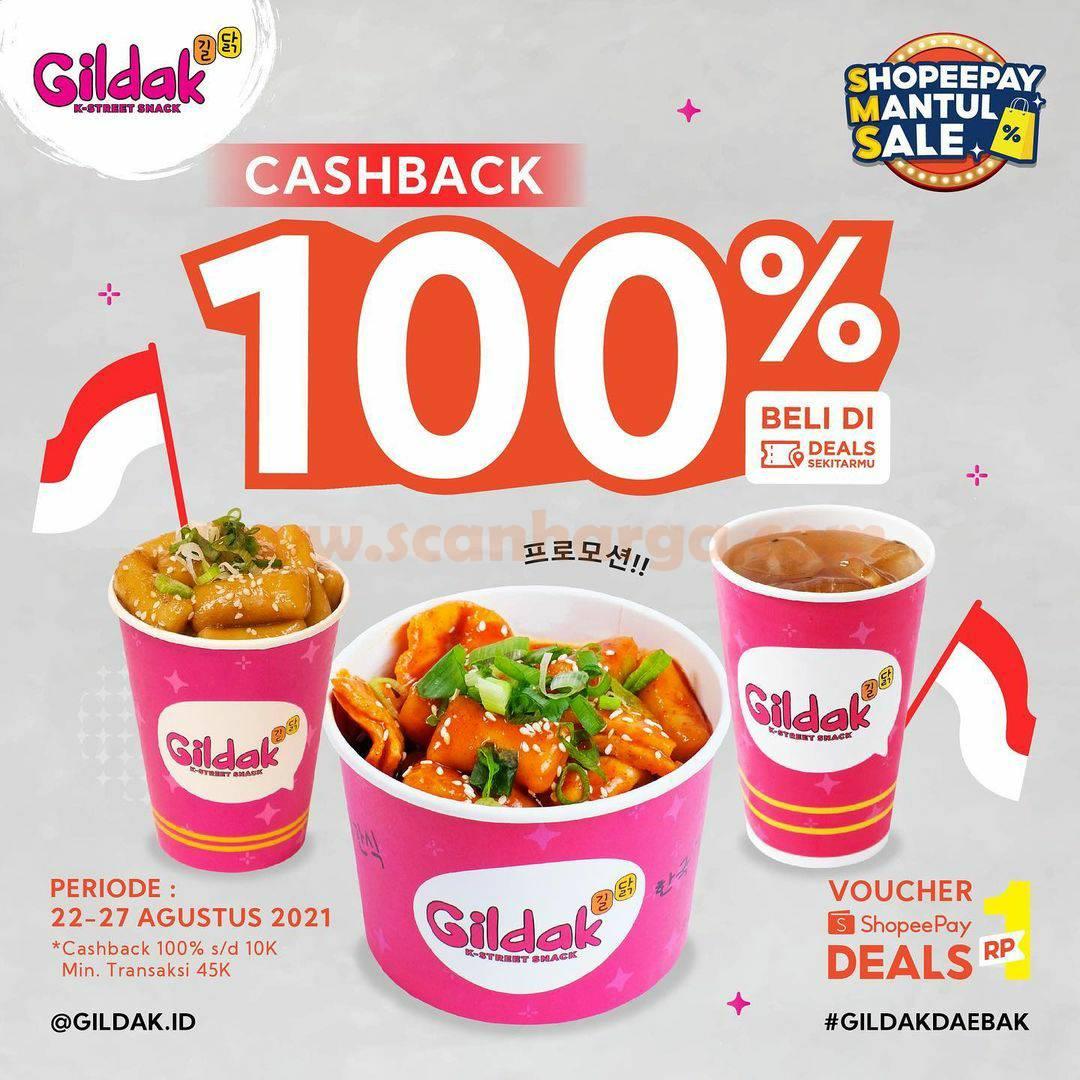 Promo GILDAK Beli Voucher Deal SHOPEEPAY Hanya Rp. 1,-