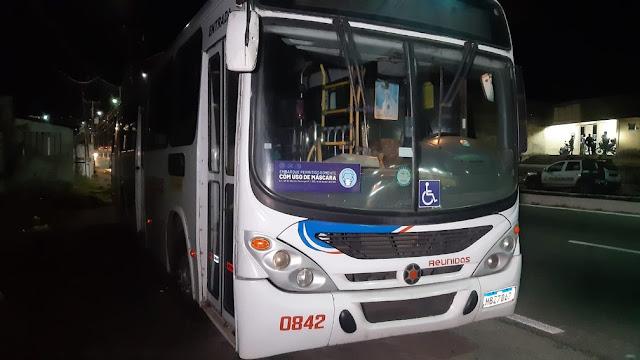 Dois assaltos a ônibus são registrados em menos de uma hora em Natal