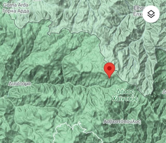 Ξάνθη: Υπό έλεγχο η φωτιά σε δασική έκταση στο Ωραίο