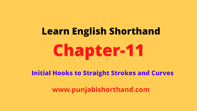Initial Hooks to Straight Strokes and Curves