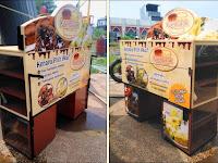 Gerobak Motor Booth Motor donat Gerobak roti keliling Jasa pembuatan Gerobak Motor