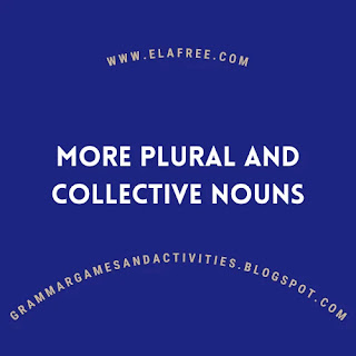 More Plural and Collective Nouns