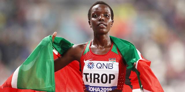 Atlet Lari Pemecah Rekor Dunia Asal Kenya, Agnes Tirop Ditemukan Tew*s Ditikam Suami