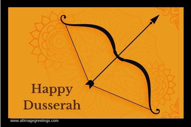 Happy Dusserah greeting image