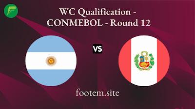 Argentina vs Peru