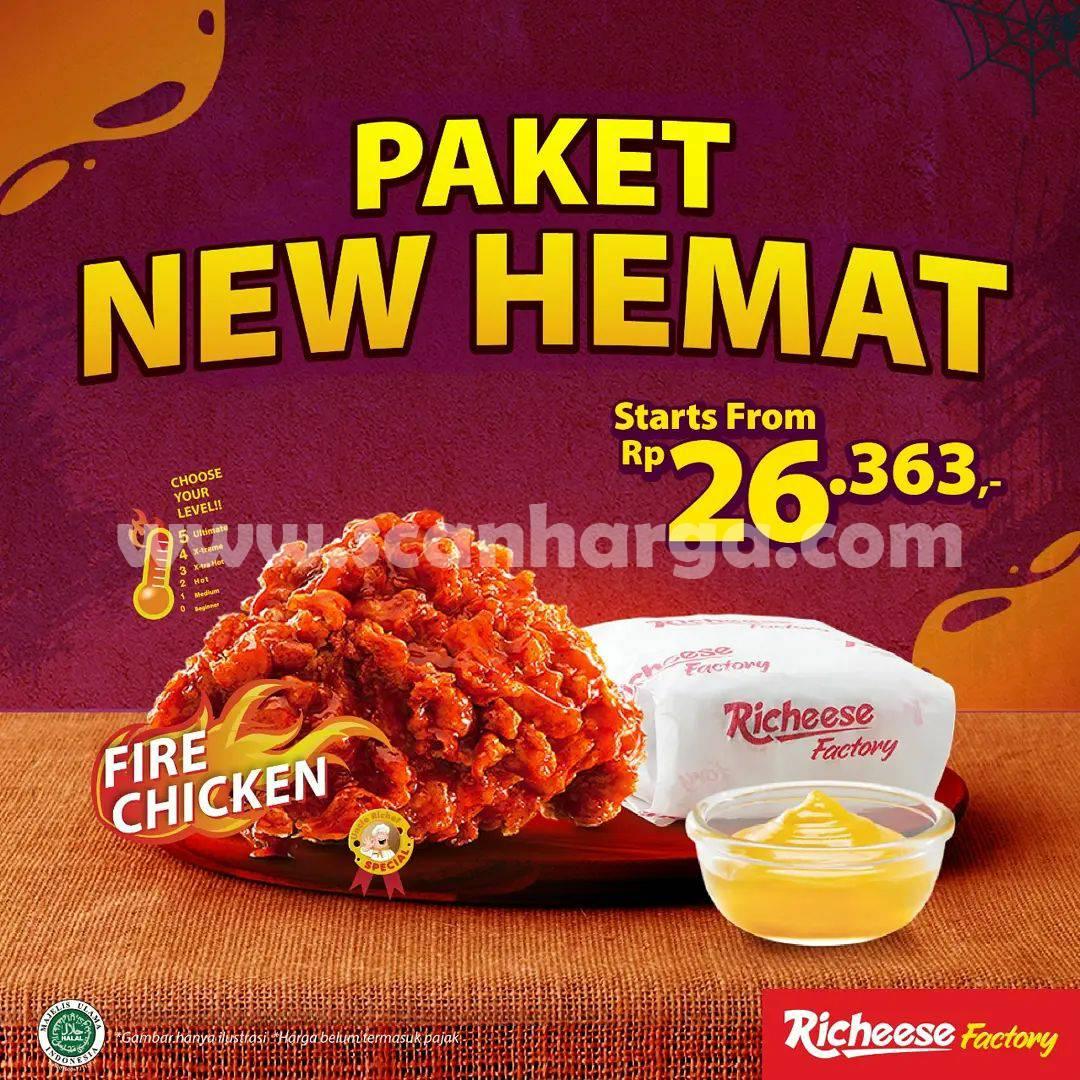 Promo Richeese Paket New Hemat mulai Rp. 26.363
