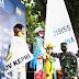 Saksikan Lomba Layar PON XX Secara Langsung, Pangdam XVII/Cenderawasih Beri Dukungan Kepada Atlet Papua.