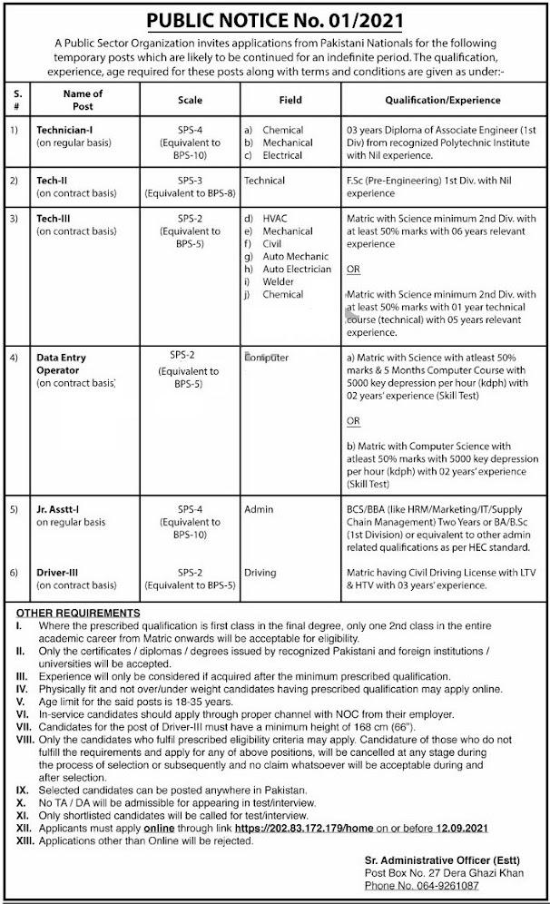 Pakistan Atomic Energy Commission Jobs 2021 Apply Online