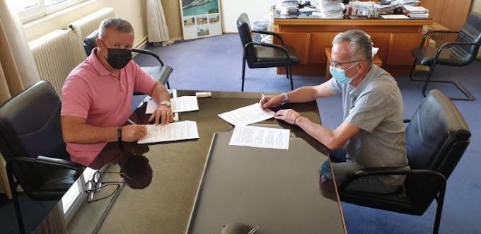 Υπογραφή κατασκευής έργου για τη πόλη της Ηγουμενίτσας