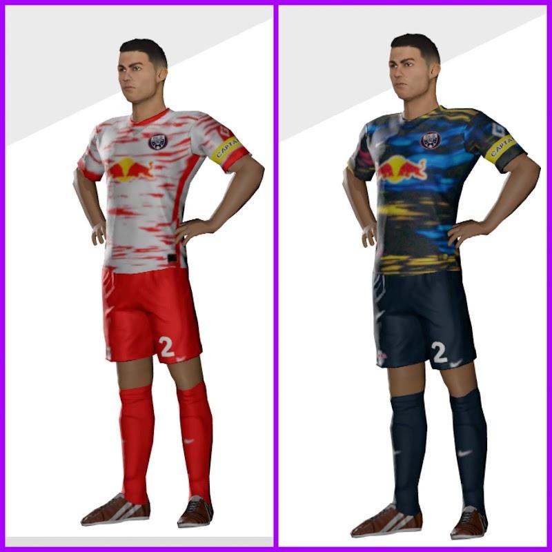 Kit RB Leipzig 2022 & Logo Dream League Soccer