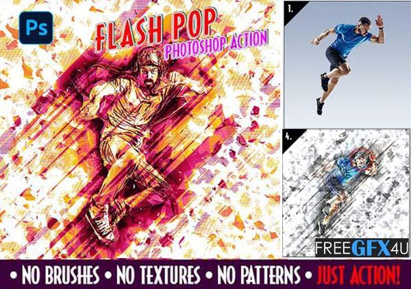 Flash Pop Art Action