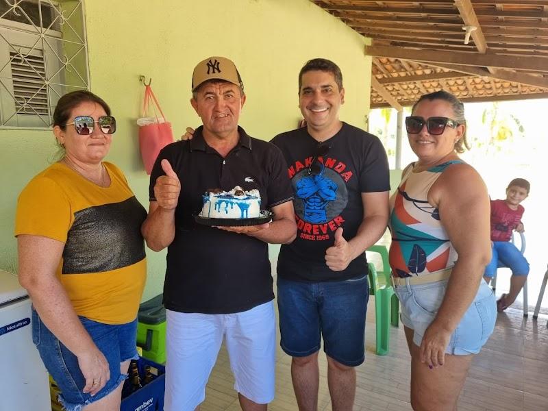 Alan Silveira, em mais um domingão ao lado dos amigos e do povo de Apodi