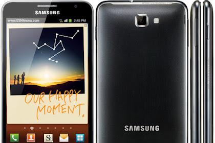 Review Spesifikasi Samsung Note 1 4G Lte