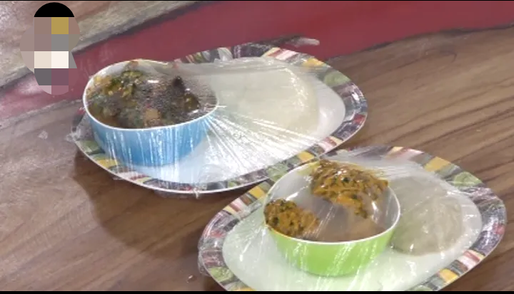 The final look of the local delicacies prepared by BBNaija housemates during today's cooking task