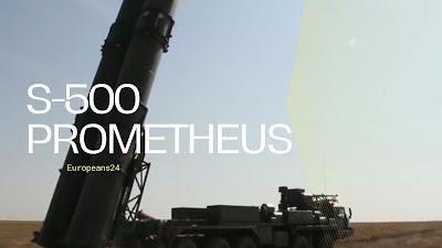 S-500 Prometheus air defence