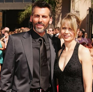 Rhonda Tollefson with her husband Oded Fehr