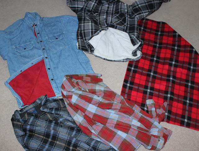 denim and fleece jackets