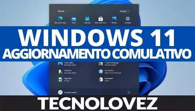 Windows 11 KB5006674 - Disponibile il primo aggiornamento comulativo di ottobre 2021