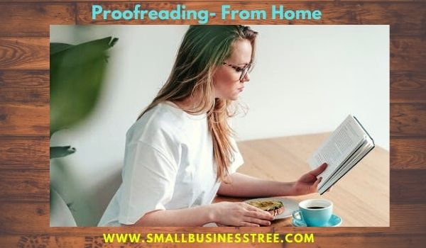 Proofreading business From Home