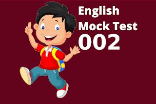 English Mock Test And Explanation For Kerala PSC LDC Main exam