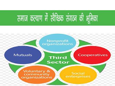 ग्रामीण विकास तथा समाज कल्याण में स्वैच्छिक संगठन की भूमिका |Role of Voluntary Organisation in Social Welfare & Development