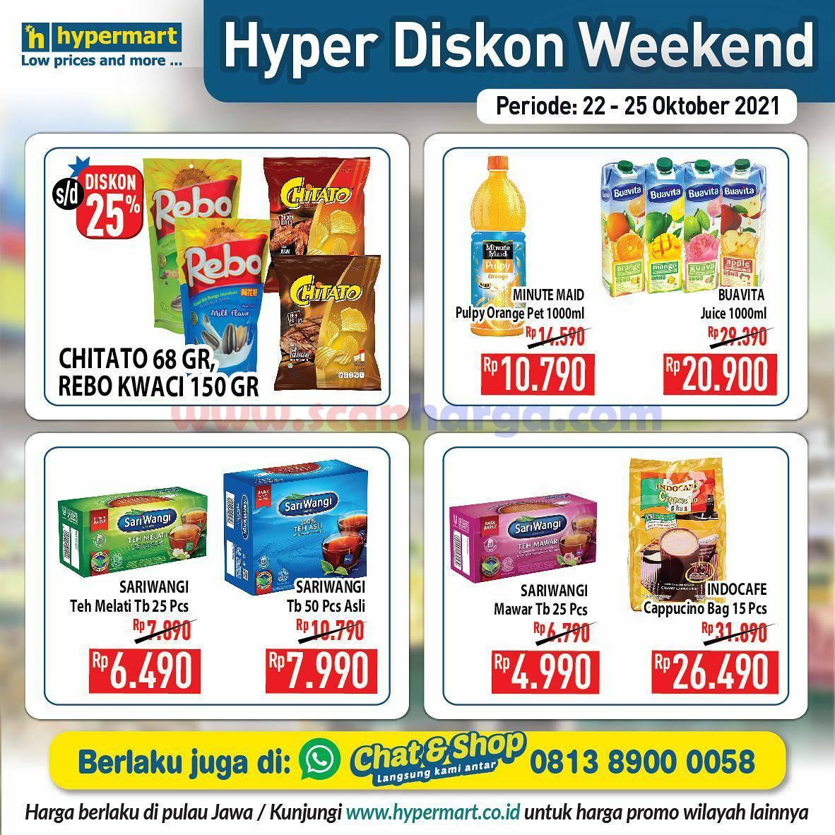 Promo Hypermart Weekend Terbaru 22 - 25 Oktober 2021 5