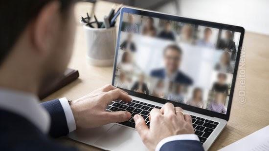tj anula audiencia virtual covid advogada
