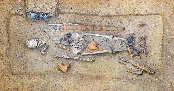 Two Richly Furnished Graves From 6th Century Unearthed In Bavaria