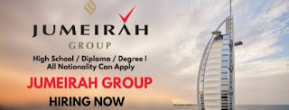 Jumeirah Group Hotels jobs in Dubai with salary