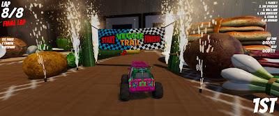 RC Rush Video Game Screenshot