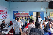 Masyarakat Kelurahan Barana Antusias Ikuti Vaksin Massal Lawan HOAX Dan Informasi Sesat Soal Pandemi Covid-19