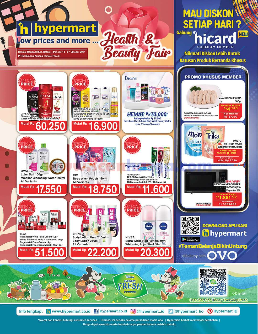 Katalog Promo Hypermart 14 - 27 Oktober 2021