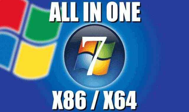 تحميل وتفعيل جميع اصدارات ويندوز Windows 7 نسخ اصلية في اسطوانة واحدة iso بالنواتين 32 و64 بت