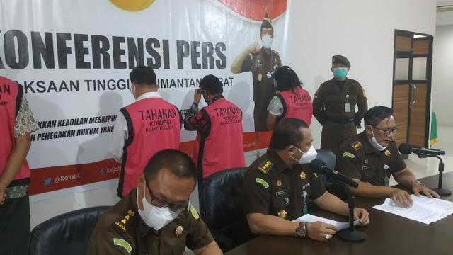Dana Hibah Gereja Kabupaten Sintang Dikorupsi, Pendeta beserta Anggota DPRD Ditahan