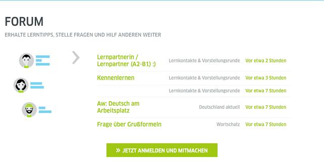 Anmelden und mitmachen Deutsch für dich Goethe Institut