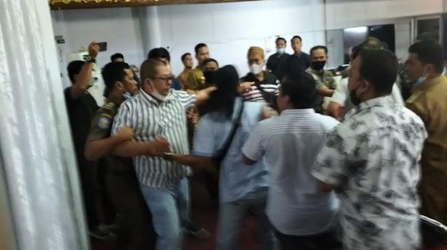 Dituding Terlibat Penambangan Ilegal, Anggota Dewan Nyaris Adu Jotos dengan Hamba Allah