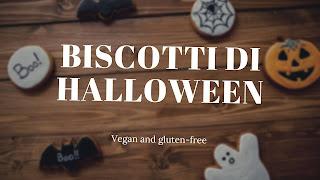 biscotti zucca halloween