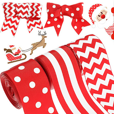 Best Christmas Grosgrain Ribbons for Accessories