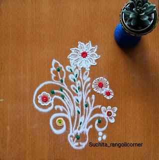 Easy And Small Rangoli Designs