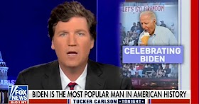 """Watch: Tucker Carlson shouts """"Let's Go Brandon"""" and explains the beautiful meaning of it - Amazing, it's just amazing"""