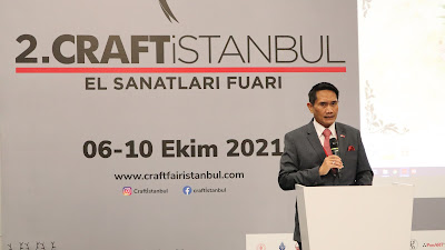 """Indonesia sebagai Country Partner dalam """"Craftistanbul"""" 2021"""