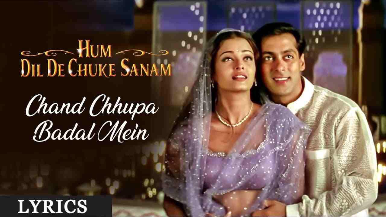 Chand Chupa Badal Mein Lyrics in Hindi