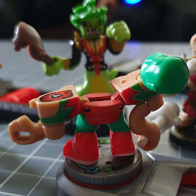 Akedo Ultimate Arcade Warriors defeated and split apart