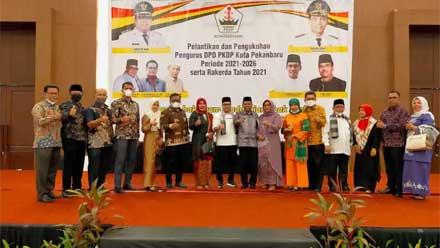 Pengurus DPD PKDP Kota Pekanbaru