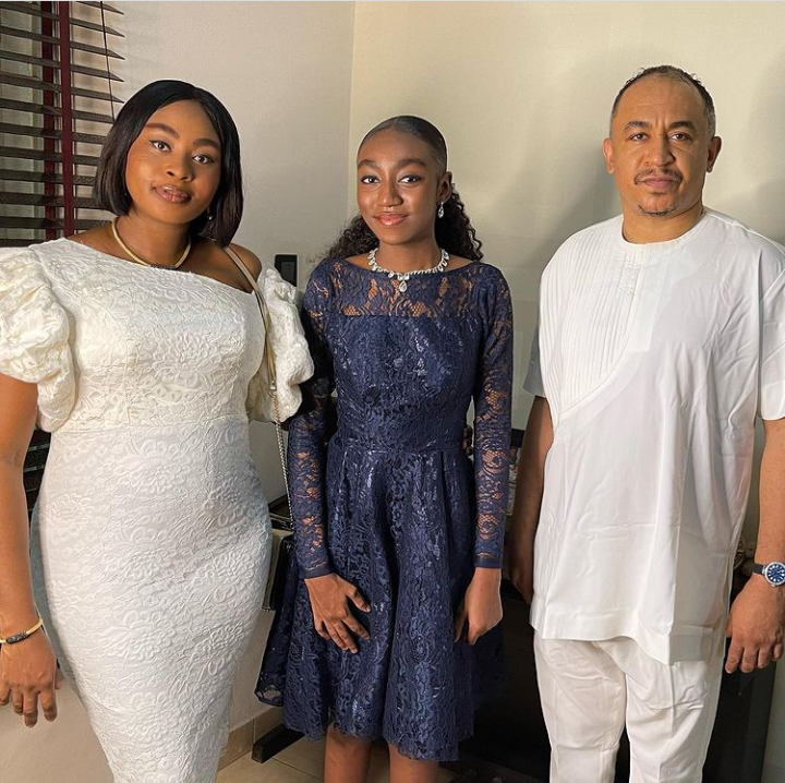 Daddy Freeze celebrates his beautiful daughter as she graduates from secondary school, shares lovely pictures