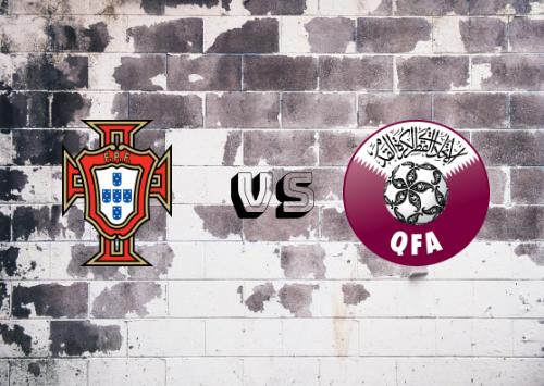 Portugal vs Qatar  Resumen y Partido Completo