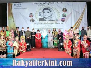 Deri Asta dan Ny Meivyta Hadiri Malam Concert Tribute to Elly Kasim