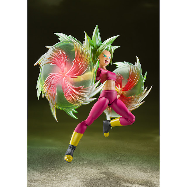 Dragon Ball Super – S.H. Figuarts Kefla, Tamashii Nations